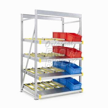 Doorrolstelling sectiebreedte 1390 mm - Voor dozen en bakken