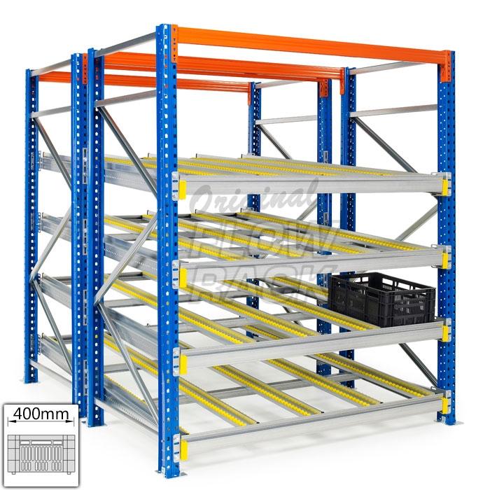 Doorrolframes CBL-versie palletstelling dubbeldiep