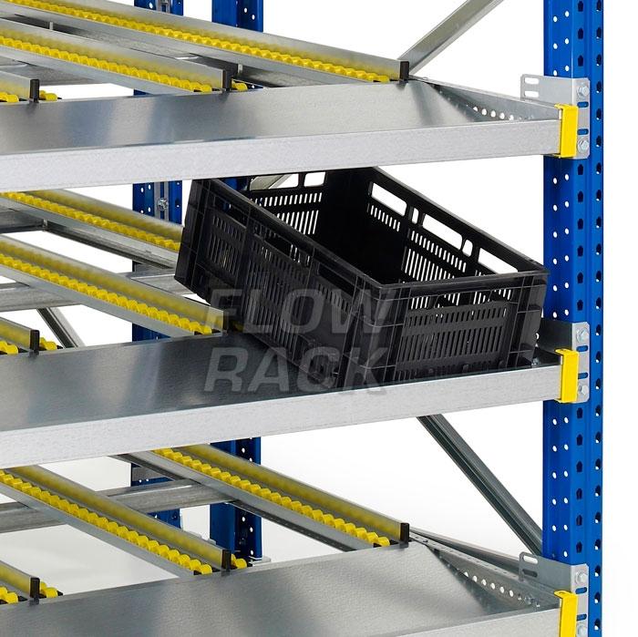 Doorrolframes CBL-versie palletstelling enkeldiep