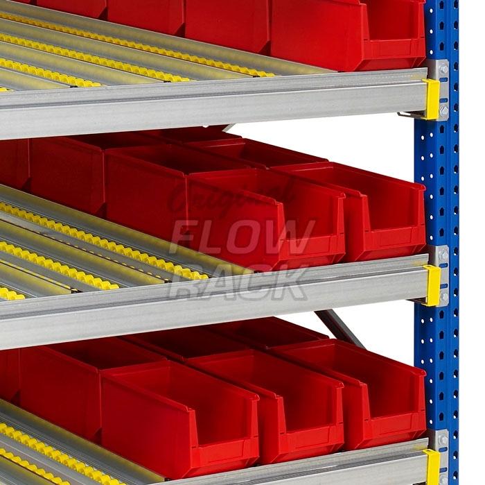 Doorrolframes voor palletstelling dubbeldiep