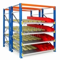 Doorrolframes voor palletstelling dubbeldiep