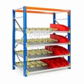 Doorrolframes voor palletstelling enkeldiep